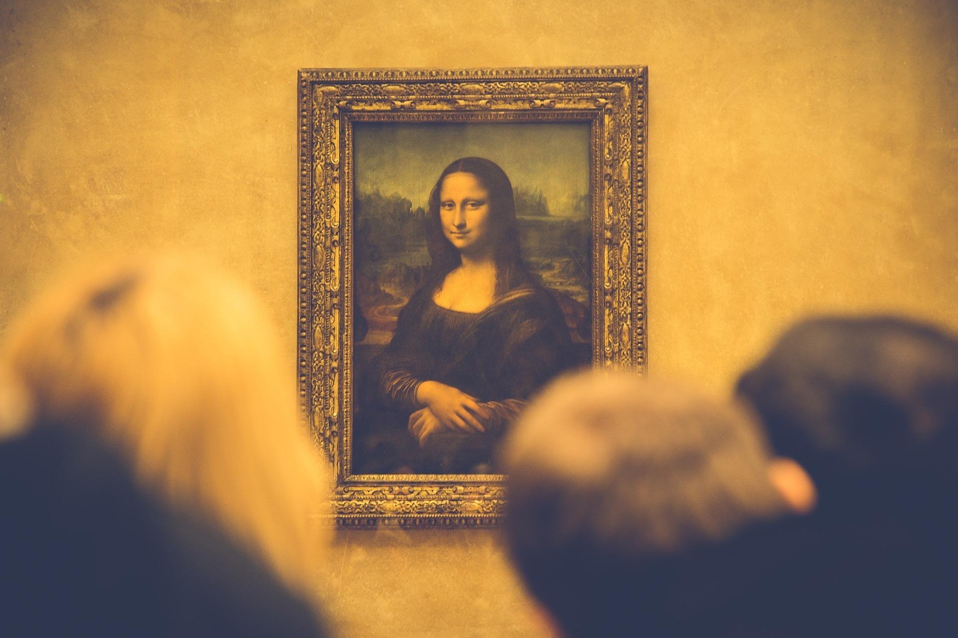 The Mona Lisa from Leonardo da Vinci