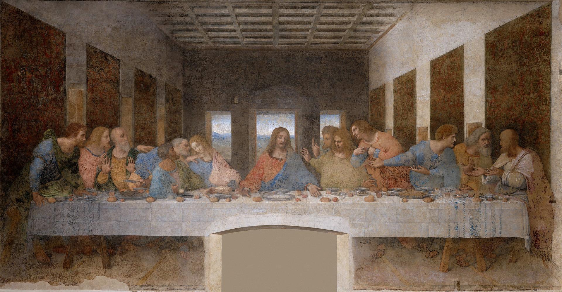 The Last Supper from Leonardo da Vinci