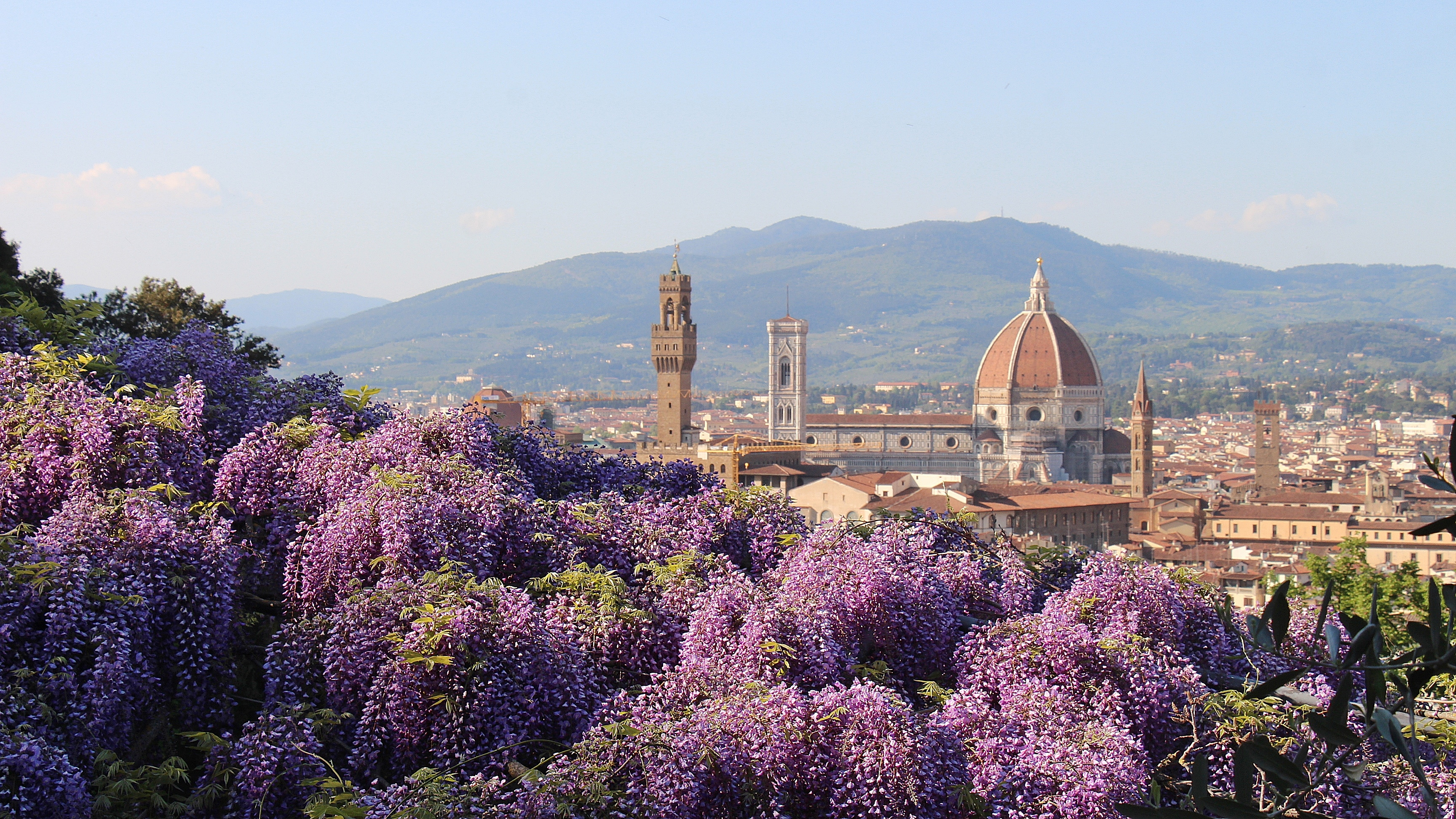 View from Villa Bardini in Florence