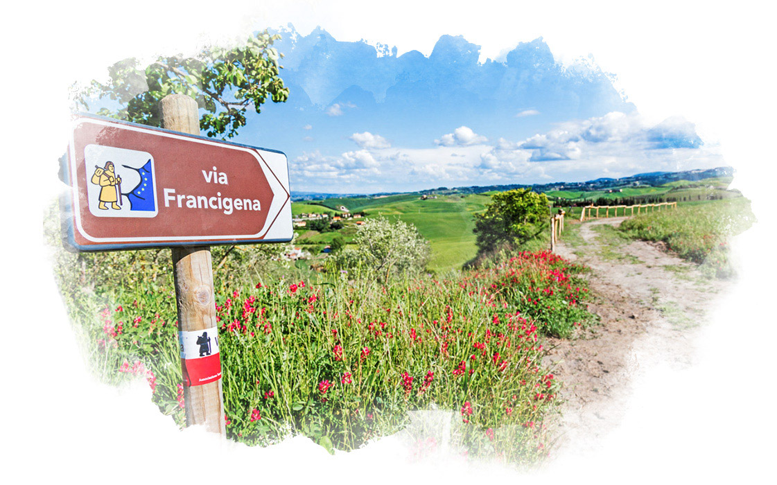 Walk the Via Francigena in Tuscany